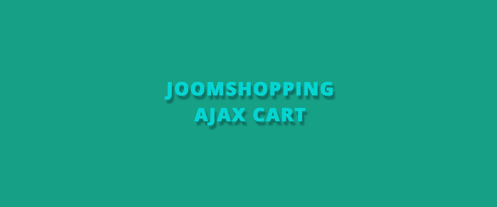 Joom Shopping Ajax Cart